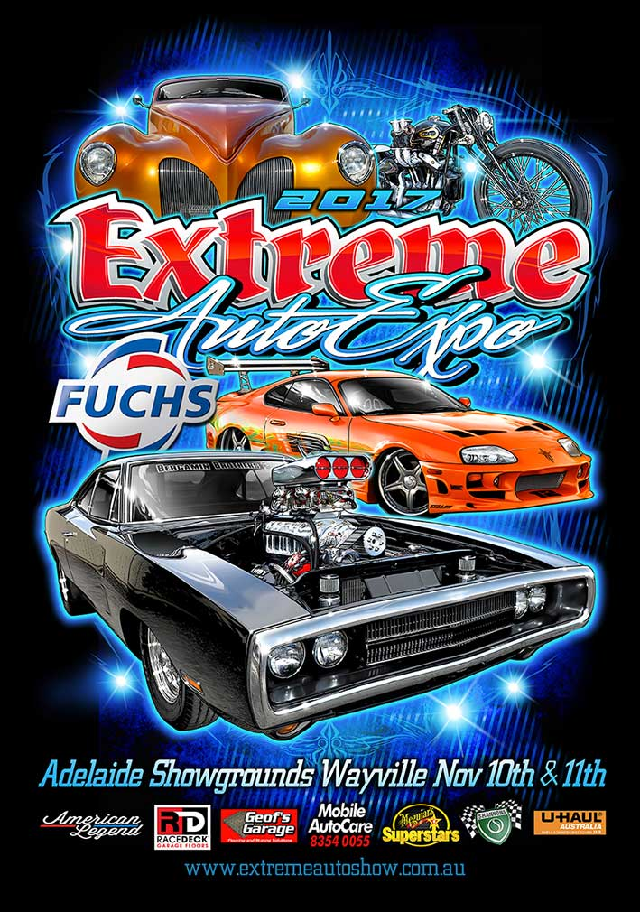 Extreme Auto Expo - Poster 2017