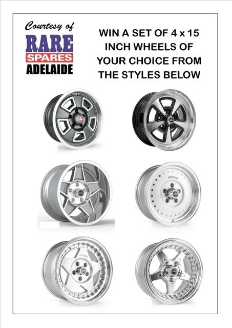 Rare Spares wheels