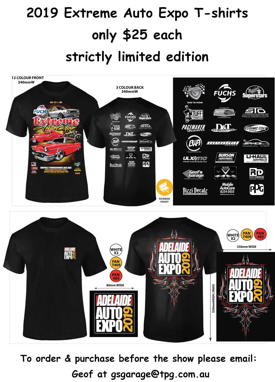 T-shirt flyer 2019